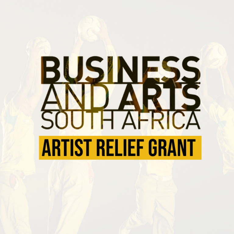 Business & Arts South Africa Relief Grants