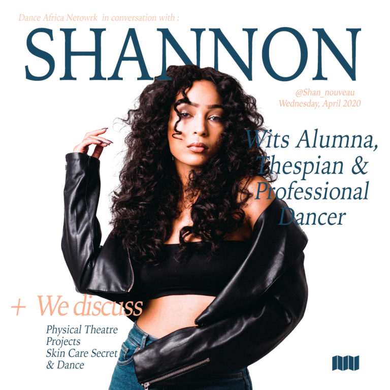 Shannon Tootla a Wits Alumna, Thespian & Professional Dancer