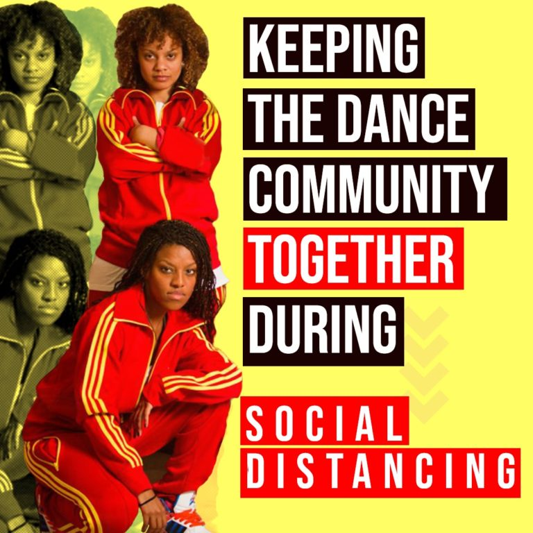 Keeping the dance community together during social distancing