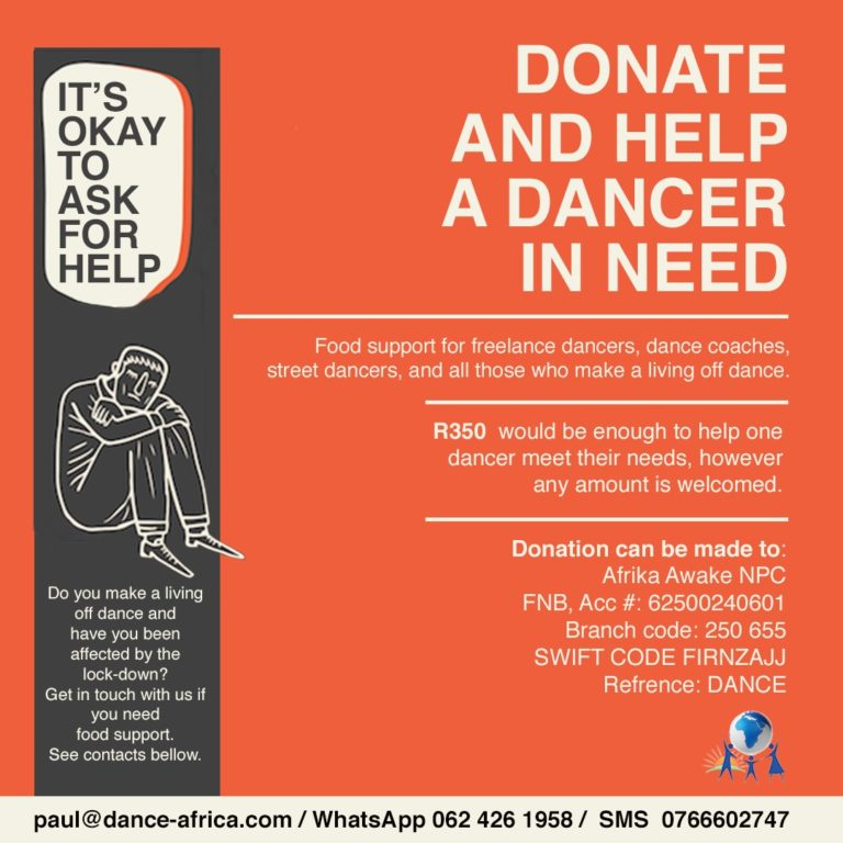 Donate & help a dancer in need
