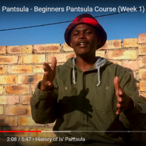 Beginners 3 Week Is' Pantsula Online Course by Sibusiso Mthembu