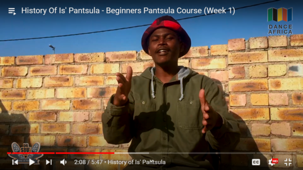 History of the word Is' pantsula, it's culture, lifestyle taught through dance by Sibusiso Mthembu. Join up for the Beginner Course now, the best classes you could have ever asked fro from South Africa.