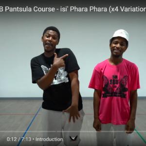 Intermediate 3 Week Is' Pantsula Online Course by Sibusiso Mthembu & David Mokhale