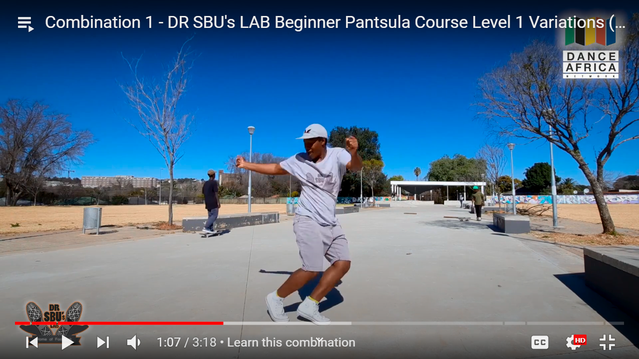 Beginners Is Pantsula Dance Course by Sibusiso Mthembu & David Mokale the best online classes 2