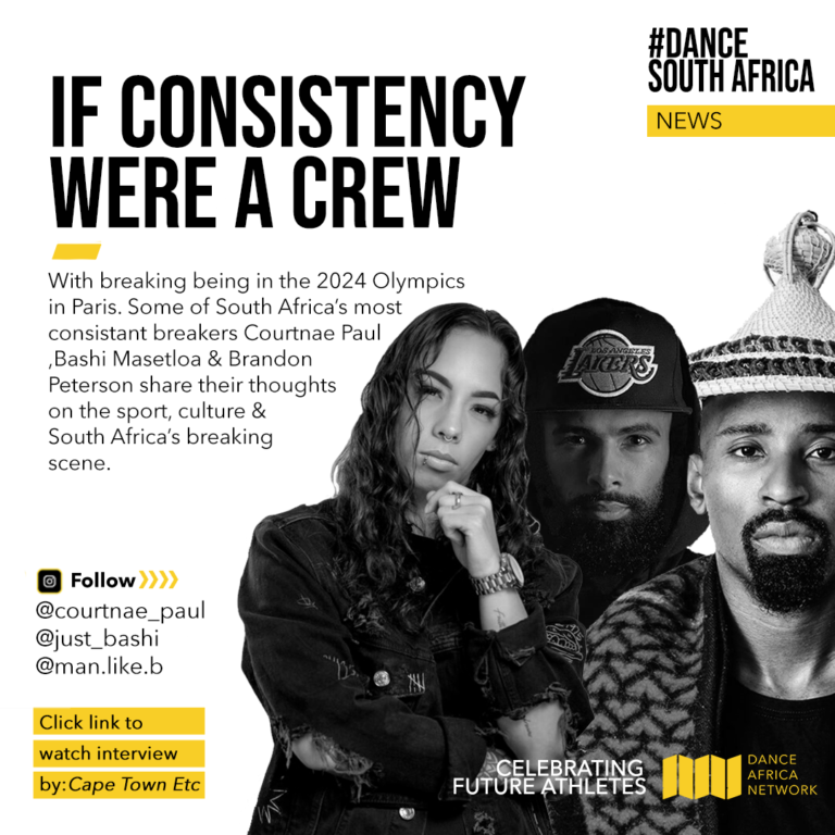 In case you missed it! Watch this interview by Capeetc with Courtnae Paul, Man Like B and Just Bashi from South Africa on breaking being in the 2024 Olympics, in Paris.