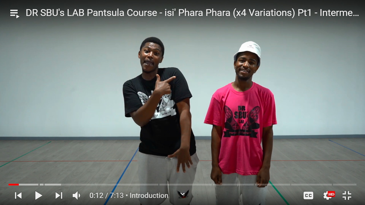 Learn how to dance Is Pantsula with Sibusiso Mthembu & David Mokale with this Online Course the best in South Africa