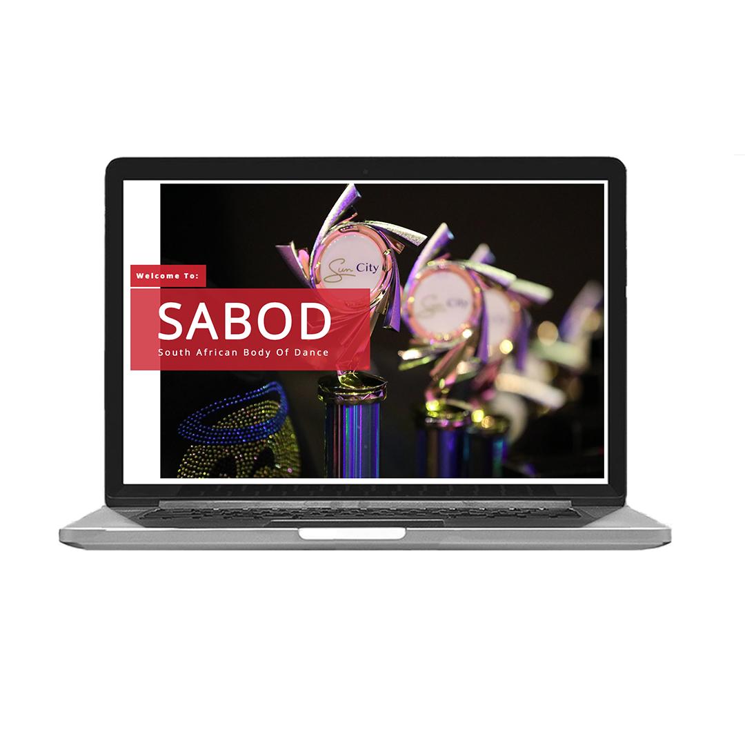 SABOD - South African Body of Dance Website Development & Design